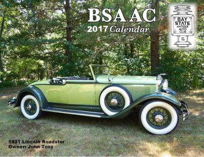 2017 BSAAC Calendar