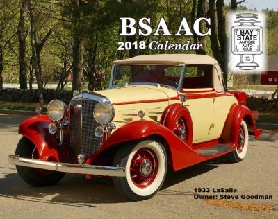2018 BSAAC Calendar